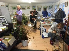 willow weaving at craft club