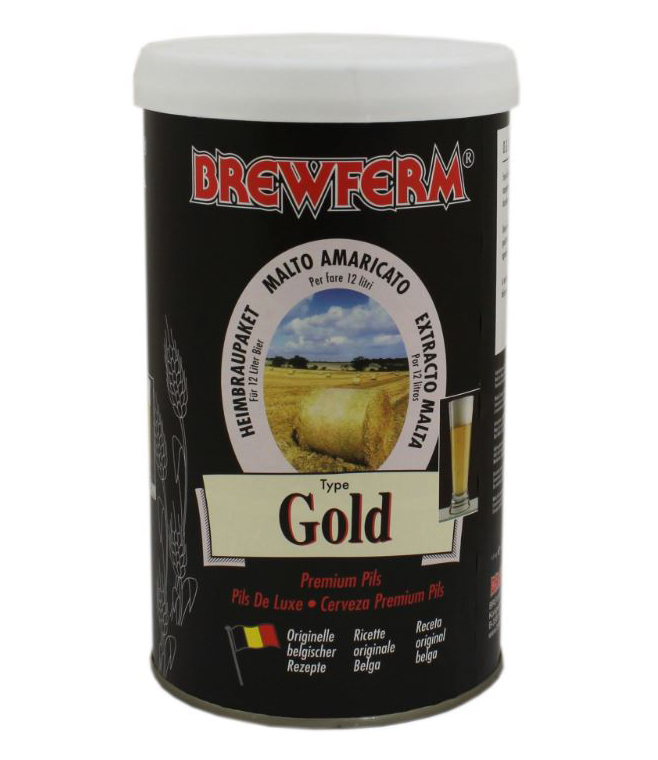 Brewferm Belgian Beer Kits Gold