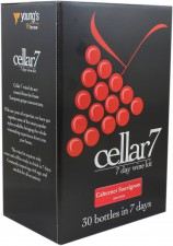 Cellar 7 Cabernet Sauvignon Red Wine Kits 30 Bottles