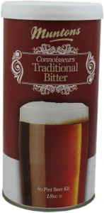 Muntons Connoisseur Traditional Bitter Kits