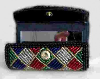 Beaded Lipstick Case