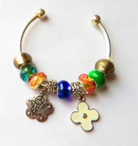spiral bracelets, no clasp bracelets