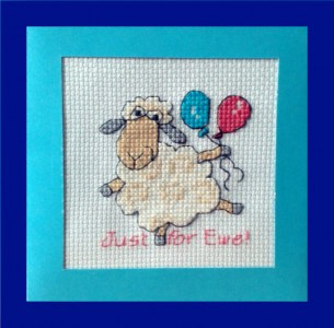 Blank Card ~ Lamb 'just for ewe!'
