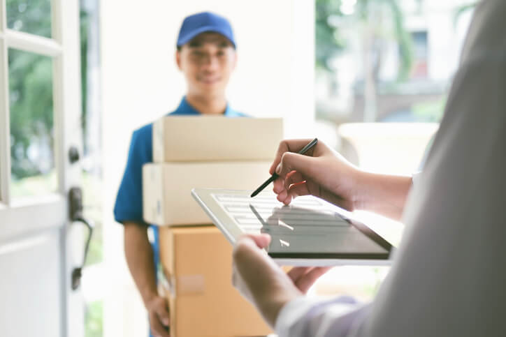 Courier Delivery Services Boston