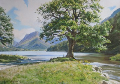 Summer holidays, Buttermere