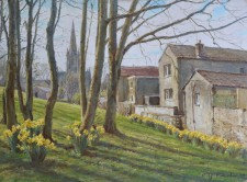 'Early spring, St.Helens Street'
