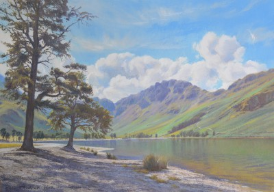 Bright morning, Buttermere